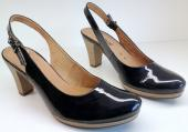Gabor pumps slingback 62.290.96 dark blue patent leather